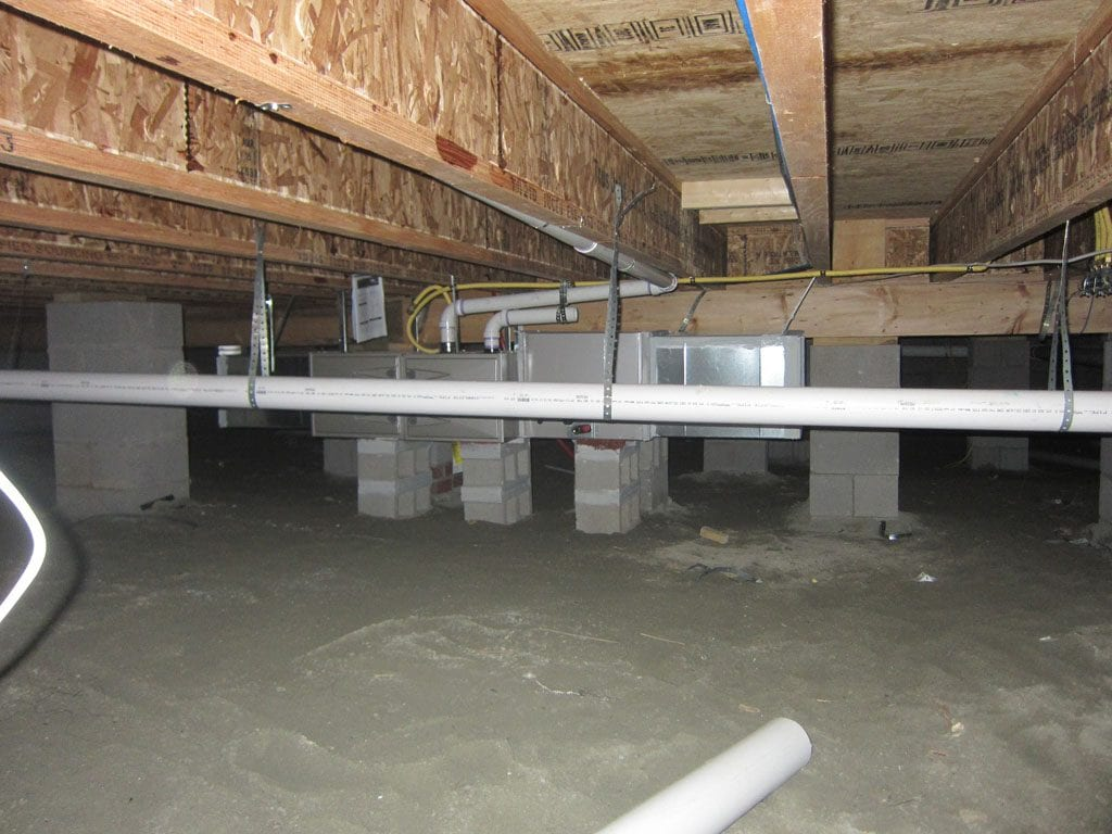 Type of home foundation - crawl space